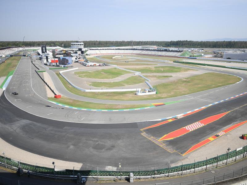 Der Hockenheimring steht der Austragung eines Formel-1-Grand-Prix immer noch grundsätzlich offen gegenüber. Foto: Sebastian Gollnow/dpa