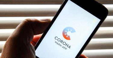So soll sie aussehen: Der Startbildschirm der Corona-Warn-App. Foto: Stefan Jaitner/dpa