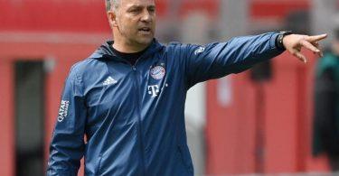 Flügelstürmer gesucht: Bayern-Trainer Hansi Flick kann sich eine Verbesserung des Kaders vorstellen. Foto: Matthias Hangst/Getty Images Europe/Pool/dpa