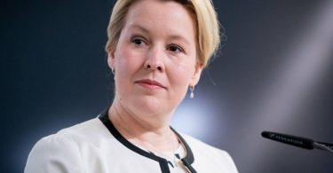 Familienministerin Franziska Giffey (SPD) äußert sich zu Kindesmissbrauch. Foto: Kay Nietfeld/dpa