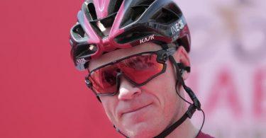 Kämpft um die Chefrolle beim Team Ineos: Chris Froome. Foto: Mahmoud Khaled/AP/dpa