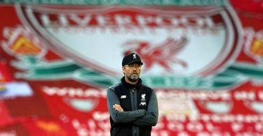 Trainer Jürgen Klopp ist mit dem FC Liverpool Champion der Premier League. Foto: Shaun Botterill/Nmc Pool/PA Wire/dpa