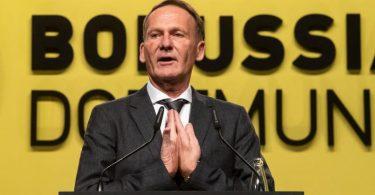 BVB-Boss Hans-Joachim Watzke möchte kein konkretes Saisonziel mehr formulieren. Foto: Bernd Thissen/dpa