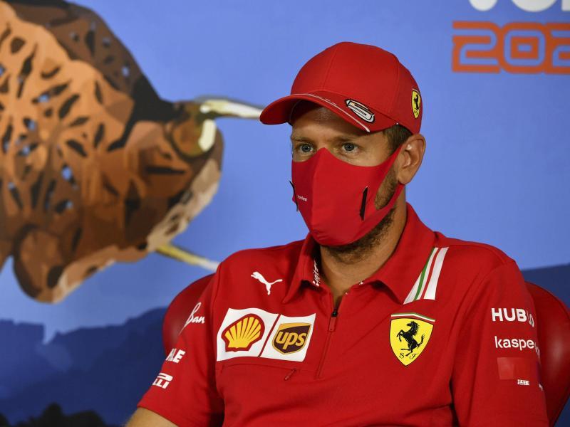 Ärgerte sich über die Ausmusterung bei Ferrari: Sebastian Vettel. Foto: Mark Sutton/MSN POOL/AP/dpa