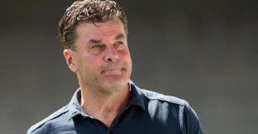 Dieter Hecking wird nicht mehr HSV-Trainer sein. Foto: Tom Weller/dpa