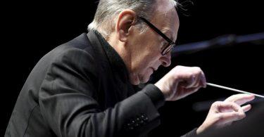Ennio Morricone 2016 bei einem Konzert in Helsinki. Der Komponist starb im Alter von 91 Jahren. Foto: Heikki Saukkomaa/Lehtikuva/dpa