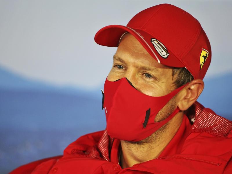 Schaut sich nach einem neuen Arbeitgeber um: Noch-Ferrari-Pilot Sebastian Vettel. Foto: Uncredited/POOL FIA/AP/dpa