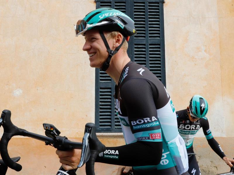 Steigt mit seinem Team bei der Sibiu Tour in Rumänien wieder ins Renngeschehen ein: Pascal Ackermann. Foto: Clara Margais/dpa
