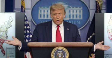 Wird nicht in Florida bei einer Großveranstaltung gekürt:US-Präsident Donald Trump. Foto: Evan Vucci/AP/dpa