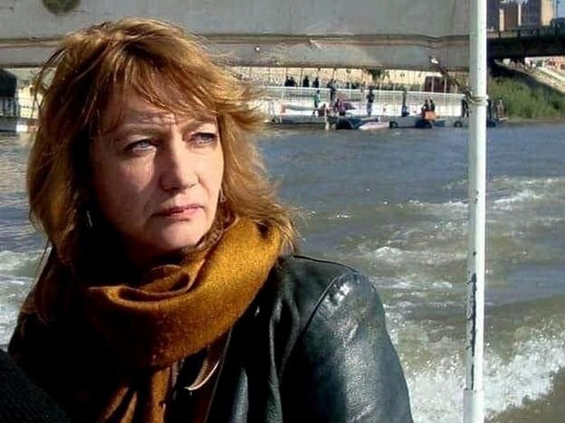 Die entführte deutsche Kulturvermittlerin Hella Mewis ist wenige Tage nach ihrer Entführung im Irak wieder frei. Foto: Uncredited/Tower of Babel for Media Development/AP/dpa