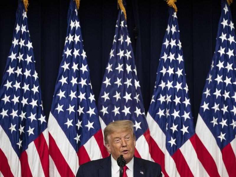 Bedauert manche seiner Tweets:US-Präsident Donald Trump. Foto: Alex Brandon/AP/dpa