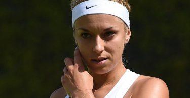 Steht bei der Veranstaltung World Team Tennis in den USA erstmals seit fast einem Jahr wieder auf dem Platz: Sabine Lisicki. Foto: Andy Rain/EPA/dpa