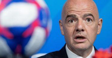 Gegen Gianni Infantino wird ermittelt. Foto: Sebastian Gollnow/dpa