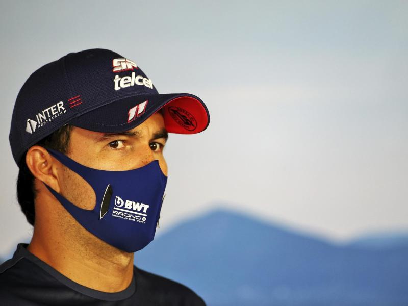 Wurde positiv auf Corona getestet: Sergio Perez. Foto: Uncredited/POOL FIA/AP/dpa