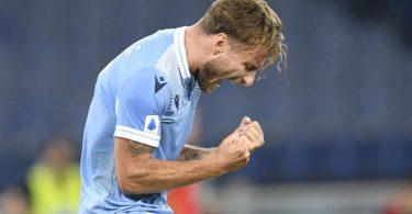 Europäischer Top-Torjäger: Lazios Ciro Immobile. Foto: Claudio Pasquazi/LPS via ZUMA Wire/dpa