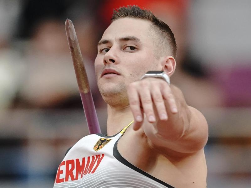 Will sich in Braunschweig seinen zweiten nationalen Titel nach 2017 holen: Johannes Vetter. Foto: Michael Kappeler/dpa