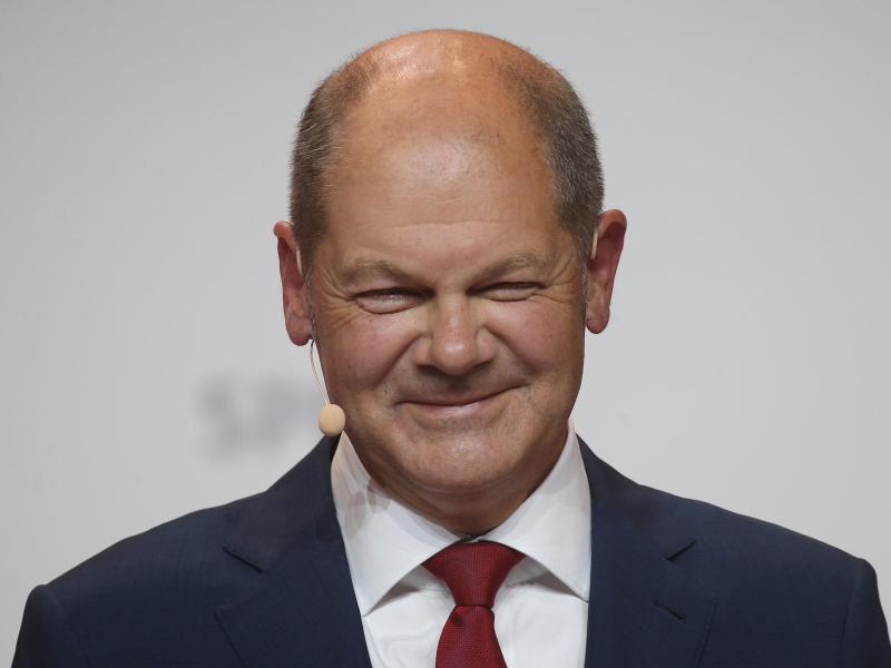 Die SPD will mit Olaf Scholz als Kanzlerkandidaten wieder über 20 Prozent erreichen. Foto: Wolfgang Kumm/dpa