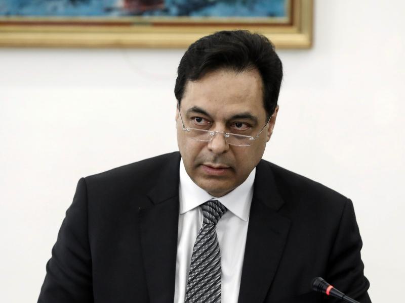 Der libanesische Premier Hassan Diab hat seinen Rücktritt angekündigt. Foto: -/Dalati & Nohra/dpa