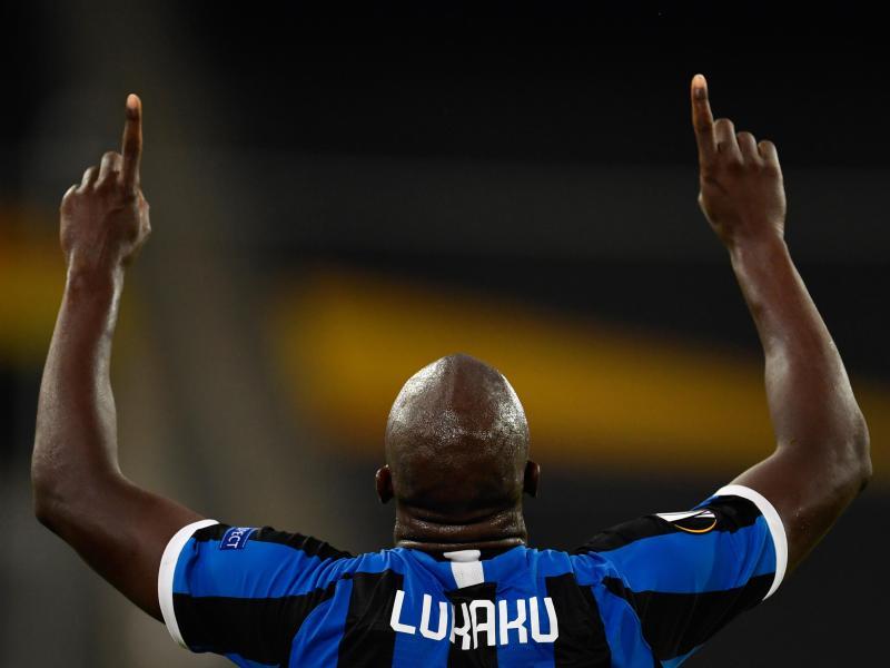 Der Belgier in Diensten von Inter Mailand feiert seinen Treffer. Foto: Marius Becker/dpa