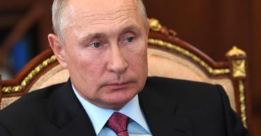 Russlands Präsident Putin nimmt an einem Treffen im Kreml teil. Foto: Alexei Nikolsky/Pool Sputnik Kremlin/AP/dpa