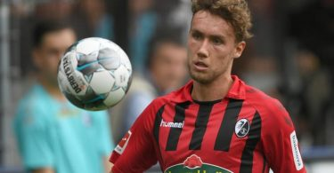 Verlässt den SC Freiburg und wechselt nach Lissabon: Luca Waldschmidt. Foto: Patrick Seeger/dpa