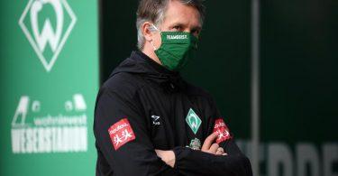 Werders Sport-Geschäftsführer Frank Baumann möchte sich in der Corona-Krise absichern. Foto: Stuart Franklin/Getty Images Europe/Pool/dpa