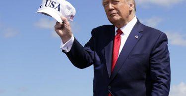 US-Präsident Donald Trump teilt gegen Herausforderer Joe Biden aus. Foto: Evan Vucci/AP/dpa