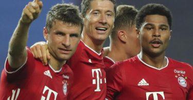 Im Finale der Champions League treten die Bayern gegen den 400-Millionen-Sturm von Paris Saint-Germain an. Foto: Miguel A. Lopes/pool EPA via AP/dpa