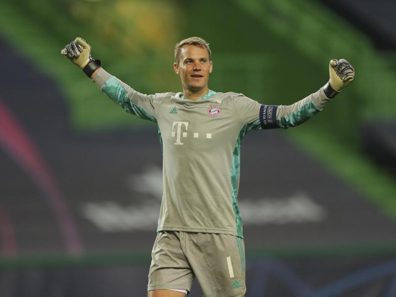 Bayern-Torhüter Manuel Neuer will den Champions-League-Titel. Foto: Miguel A. Lopes/pool EPA via AP/dpa