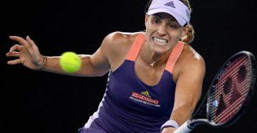 Schlägt bei den US Open auf: Angelique Kerber. Foto: Lukas Coch/AAP/dpa