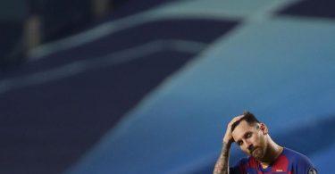 Lionel Messi will laut Medienberichten eine Klausel in seinem Vertrag ziehen, durch die er am Ende jeder Saison einseitig kündigen kann. Foto: Manu Fernandez/Pool AP/dpa