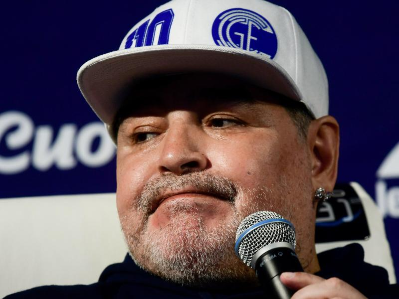 Verstarb im Alter von 60 Jahren: Diego Maradona. Foto: Gustavo Ortiz/dpa