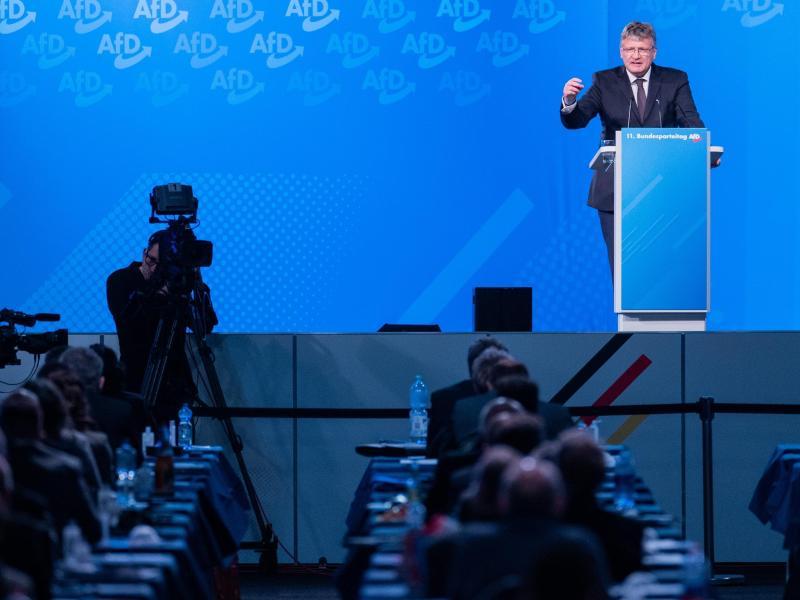 Jörg Meuthen kritisiert Provokateure in der eigenen Partei - auch in Bezug auf die Corona-Politik. Foto: Rolf Vennenbernd/dpa