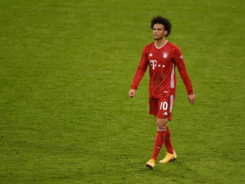 Ist beim FC Bayern noch nicht richtig angekommen: Leroy Sané. Foto: Lukas Barth/epa/Pool/dpa
