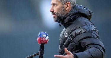 Gladbachs Trainer Marco Rose soll ein Kandidat beim BVBsein. Foto: Marius Becker/dpa