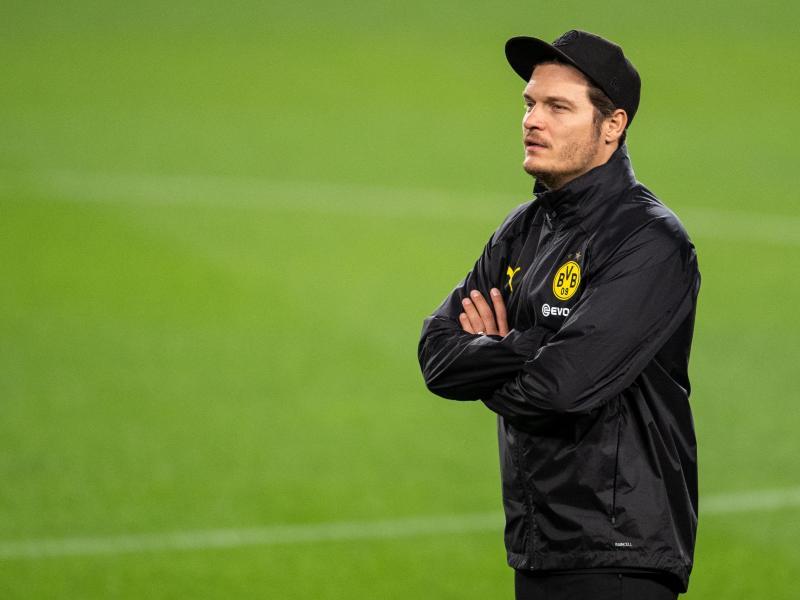 Gibt sein Debüt als BVB-Coach: EdinTerzic. Foto: Marius Becker/dpa