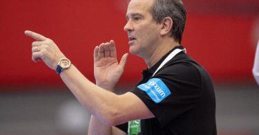 Will mit Deutschlands Handball-Frauen den EM-Halbfinaleinzug perfekt machen: Bundestrainer Henk Groener. Foto: Bo Amstrup/Ritzau Scanpix/AP/dpa