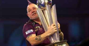 Will seinen Titel in London verteidigen: Darts-Weltmeister Peter Wright. Foto: Steven Paston/PA Wire/dpa