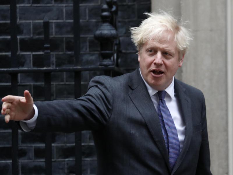 Boris Johnson, Premierminister von Großbritannien. Foto: Frank Augstein/AP/dpa