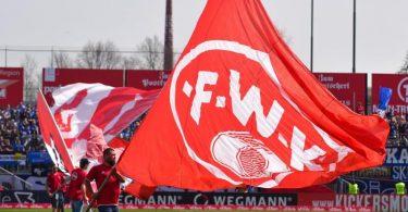 Das Team der Würzburger Kickers muss in Quarantäne. Foto: picture alliance / Nicolas Armer/dpa