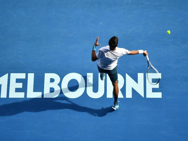 Die Australian Open starten am 8. Februar. Foto: Sydney Low/Cal Sport Media/Zuma/dpa