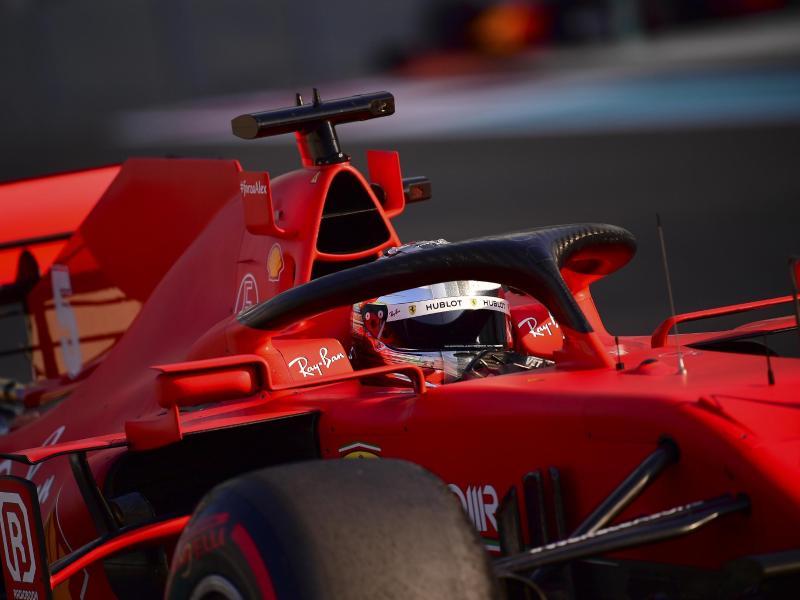 Sebastian Vettel schied im Ferrari in der Qualifikation vorzeitig aus. Foto: Giuseppe Cacace/Pool AFP/AP/dpa