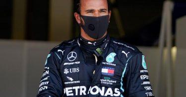 Wurde positiv auf das Coronavirus getestet: Formel-1-Weltmeister Lewis Hamilton. Foto: Will Oliver/Pool EPA/AP/dpa