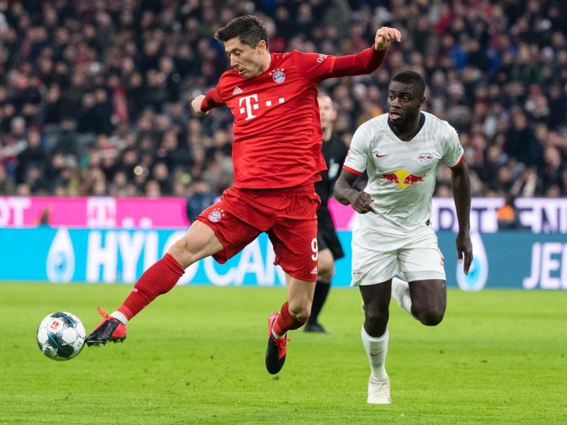 Am 10. Spieltag empfängt der FC Bayern München im heimischen Stadion RB Leipzig. Foto: Matthias Balk/dpa