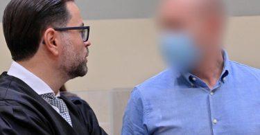 Muss sich in München vor Gericht verantworten: Sportmediziner Mark S. (r). Foto: Peter Kneffel/dpa