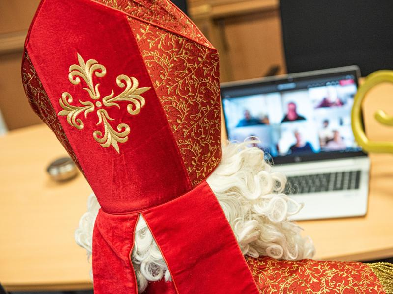 Viele Nikolaus-Aktivitäten werden in diesm Jahr ins Internet verlegt - aber nicht alle. Foto: Simon Wiggen/Bistum Essen/dpa