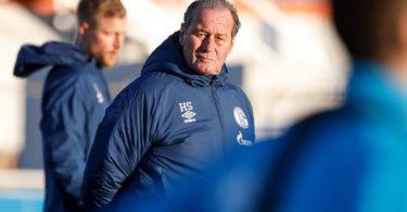 Nach der Trennung von Trainer Manuel Baum steht Huub Stevens auf Schalke im Fokus. Foto: Karsten Rabas/FC Schalke 04/dpa