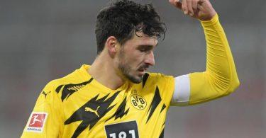BVB-Star Mats Hummels war nach der Niederlage bei Union Berlin bedient. Foto: Soeren Stache/dpa-Zentralbild/dpa
