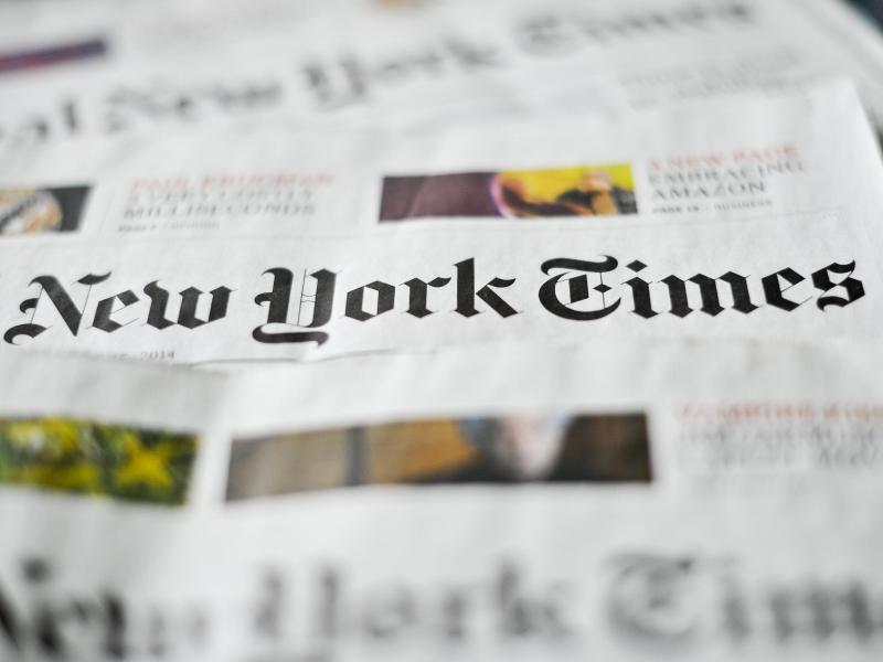Die 'New York Times' fiel auf einen Hochstapler herein. Foto: Ole Spata/dpa