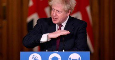 Großbritanniens Premier verkündet strenge Ausgangsbeschränkungen während der Weihnachtstage. Foto: Toby Melville/PA Wire/dpa